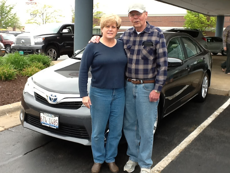 Photo: Greg Martens would like to congratulate Doug & Shelly on their 2012 Toyota Camry Hybrid!!!