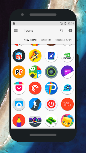 Oreo 8 - Icon Pack Applications pour Android screenshot