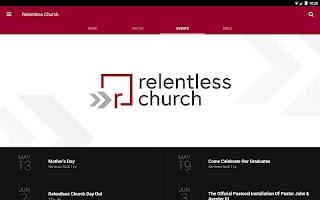 ourRelentless Church