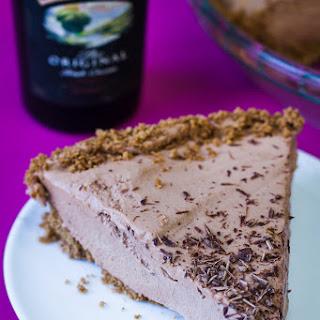 No-Bake Baileys Chocolate Pie.