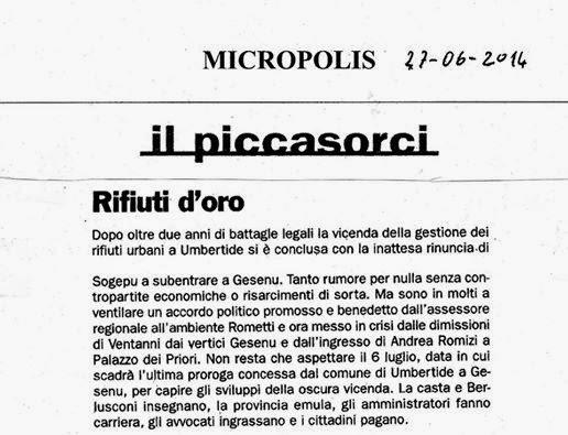 Gli Articoli di Micropolis