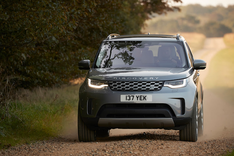 The new Land Rover Discovery.