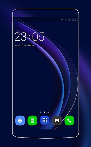 Theme for Huawei Honor 8/P8 HD Wallpaper Icon Pack  screenshots 1