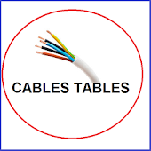 Electrical Cable Table:  free electricians app