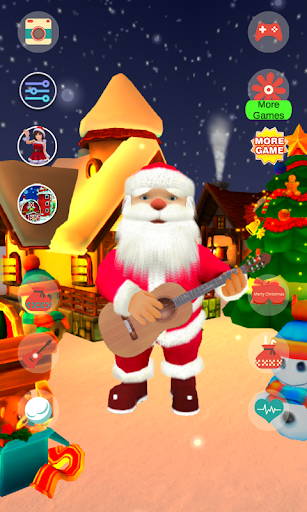 Foto do Talking Santa Claus