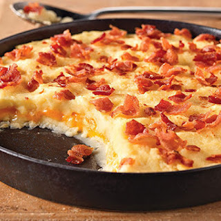 Cheddar-Mashed Potato Casserole Recipe