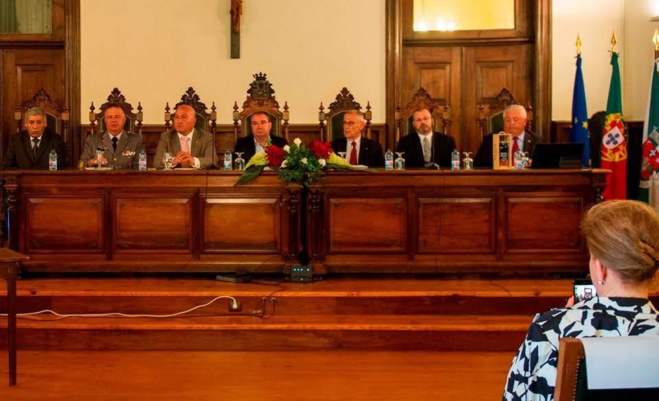 """Major-General Rodolfo Begonha apresenta """"O Primeiro Ranger Português"""" na Câmara de Lamego"""