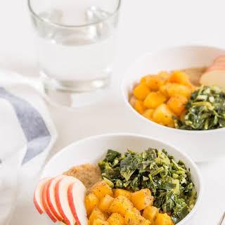 Vegan Amaranth Bowl with Garam Masala Butternut Squash.