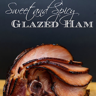 Sweet and Spicy Glazed Ham