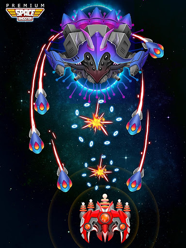 Space Shooter: Alien vs Galaxy Attack (Premium) apkpoly screenshots 13