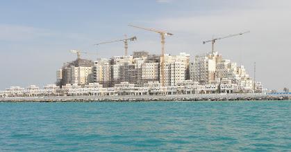 Photo: building on palm island