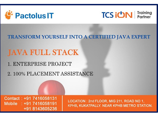 TCS iON TRAINING PARTNER - PACTOLUS IT KPHB