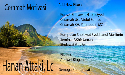 Ceramah Motivasi Ust Hanan Attaki Apk Download Apkpure Co