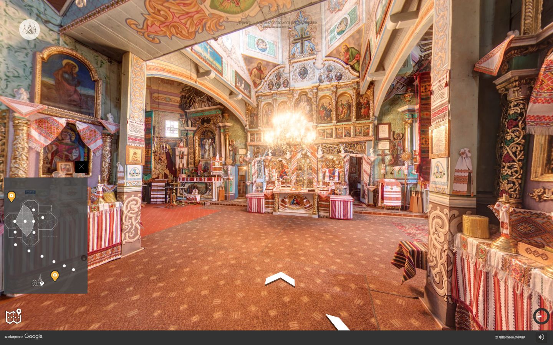 Google запустила онлайн-тур подеревянным церквям Карпатского региона