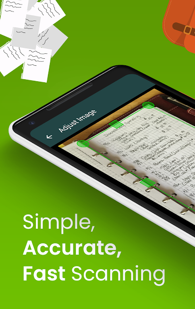 Clear Scan: Free Document Scanner App,PDF Scanning Android App Screenshot