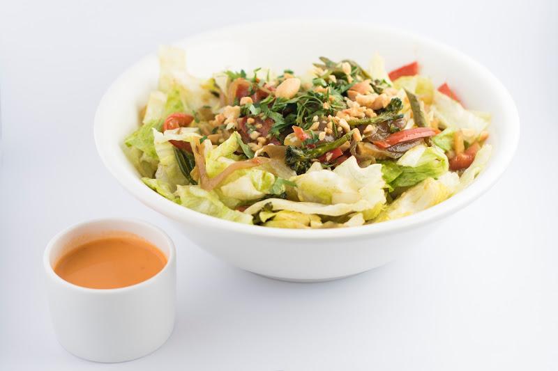 Vegetarische thaise salade