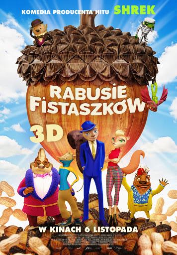 Przód ulotki filmu 'Rabusie Fistaszków'