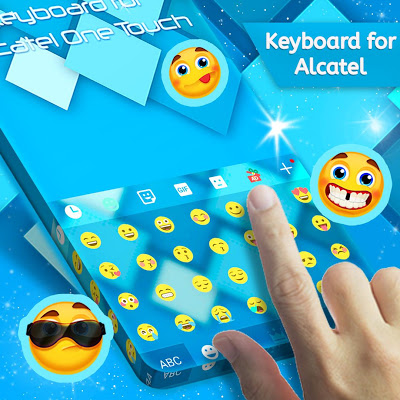 Keyboard for Alcatel One Touch - screenshot