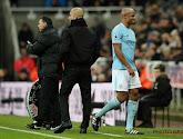 L'entraîneur de Manchester City, Pep Guardiola, donne des nouvelles de Vincent Kompany