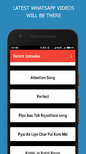 Lyrical Whatsapp Video Status - náhled