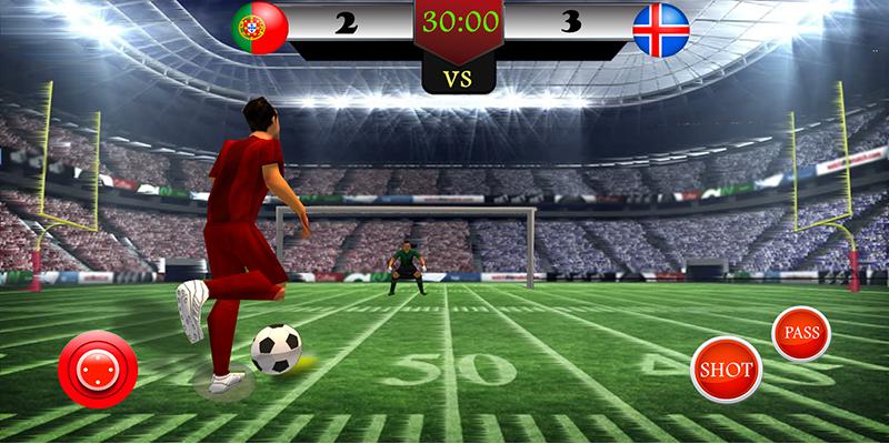 Ultimate Football Soccer 2017 - screenshot