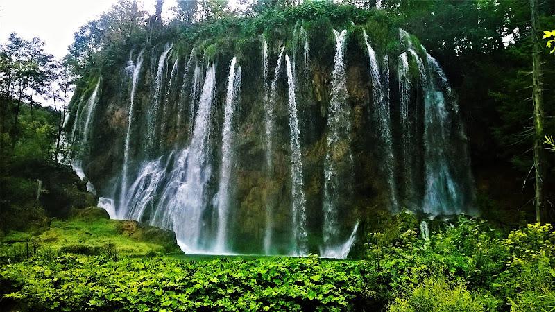 cascata laghi Plivitce di tratte