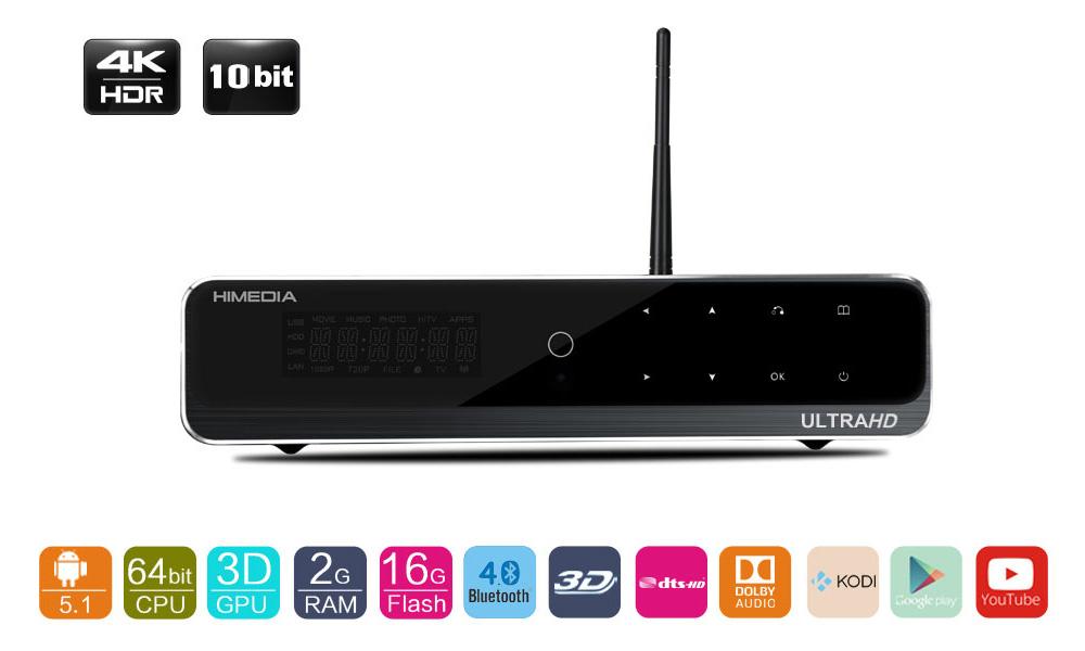 Android Box HIMEDIA Q10 Pro, đầu phát HD cấu hình khủng nhất 2016
