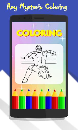 Rey Mysterio Coloring
