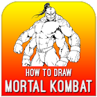 How To Draw Mortal Kombat icon