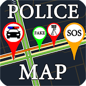 Police Map (Speed Radar Camera)