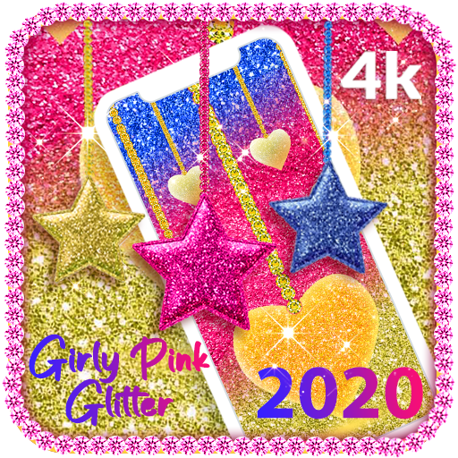 Girly Pink Glitter Wallpapers For Android Programme Op Google Play