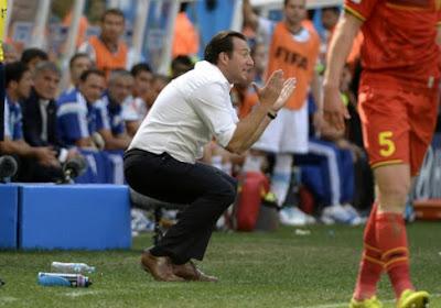 """Wilmots: """" L'Argentine a un joueur extraodinaire mais c'est tout """""""