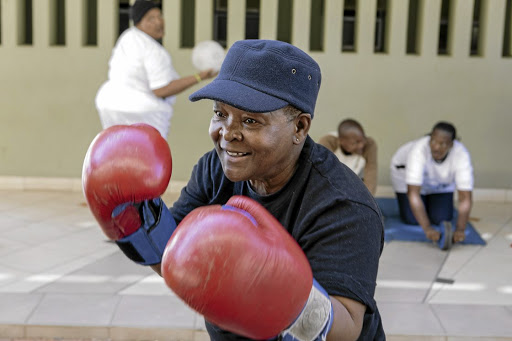 Training with the boxing grannies of Cosmo City is one of Joburg'sAirbnb Experiences.