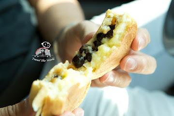 (陳)萬丹市場紅豆餅