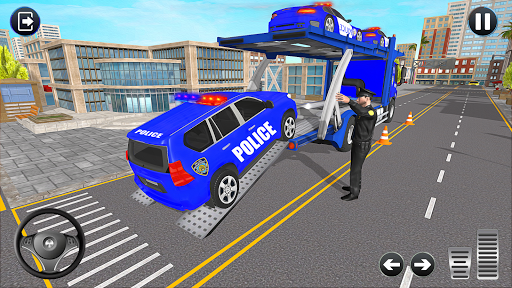 Grand Police Transport Truck screenshot 2