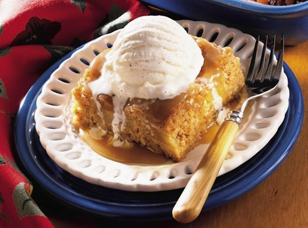 Country Apple Cake With Caramel Sauce Recipe