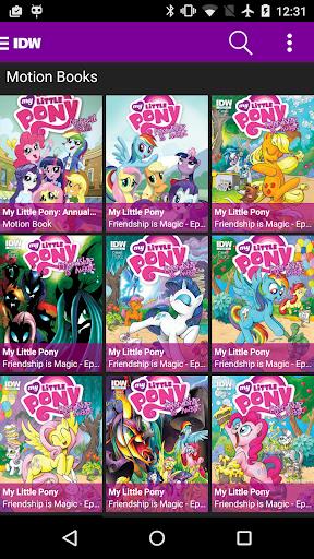 My Little Pony Comics 1.3.1 screenshots 3