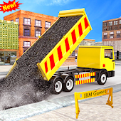 Grand City Road Construction Sim 2018 Android APK Download Free By IBM Games