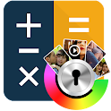 Photo Video Gallery Lock- Calc icon