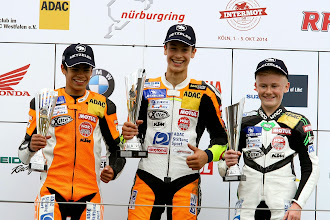 Photo: ADAC Juniorcup powerde by KTM Nuerburgring 2014: Lukas Tulovic (ADAC Nordbaden e.V./Levior RT Germany)\