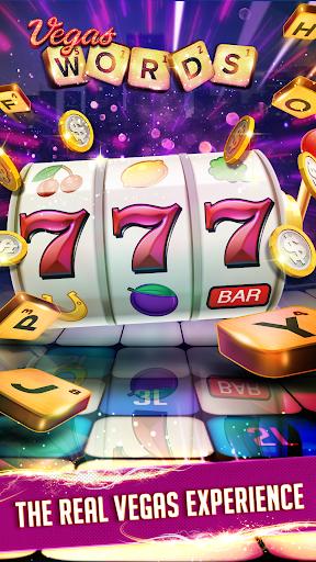 Vegas Words – Downtown Slots & Word Puzzle Screenshot