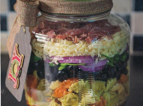 Tortellini Salad In A Jar Recipe