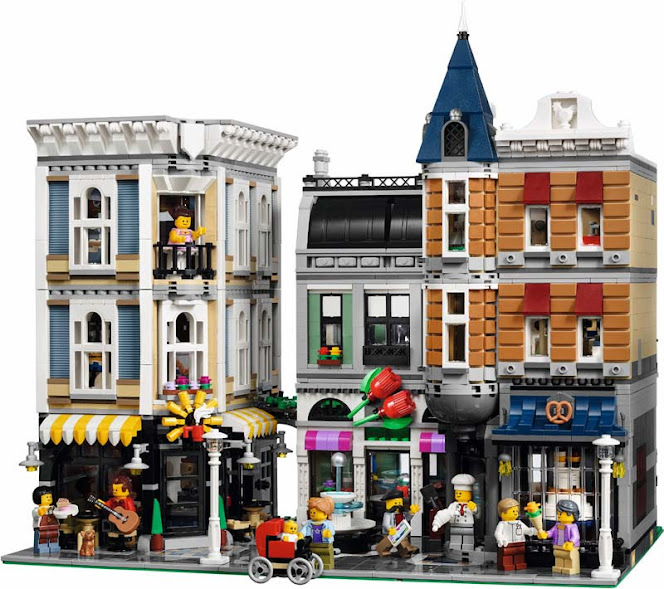 Contenido de Lego® 10255 Gran Plaza