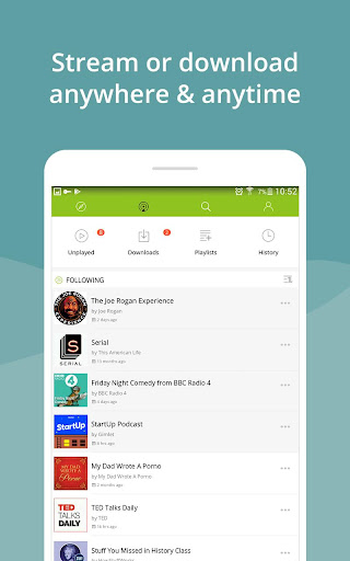 Podcast App & Podcast Player - Podbean screenshots 8