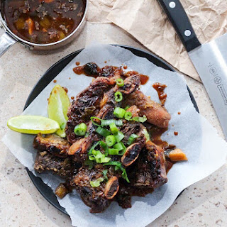 Sticky Asian Ribs Gluten Free.
