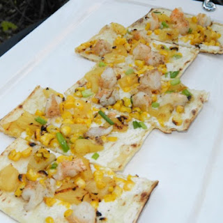Grilled Tropical Shrimp Flatbread
