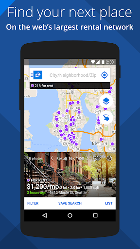 Apartments & Rentals - Zillow 3.5.2.1300 screenshots 1
