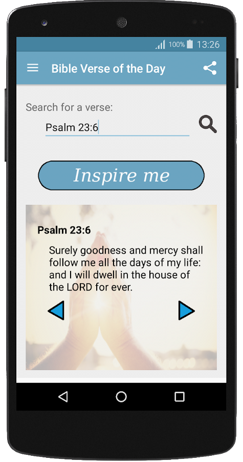 Bible Verse of the Day AKJV- screenshot