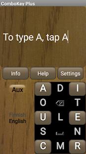 ComboKey Plus keyboard - náhled