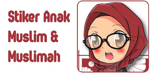 Unduh 50  Gambar Animasi Anak Muslim Muslimah  Paling Keren